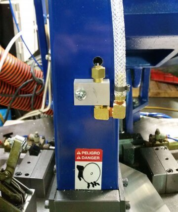 circular saw lubrication system