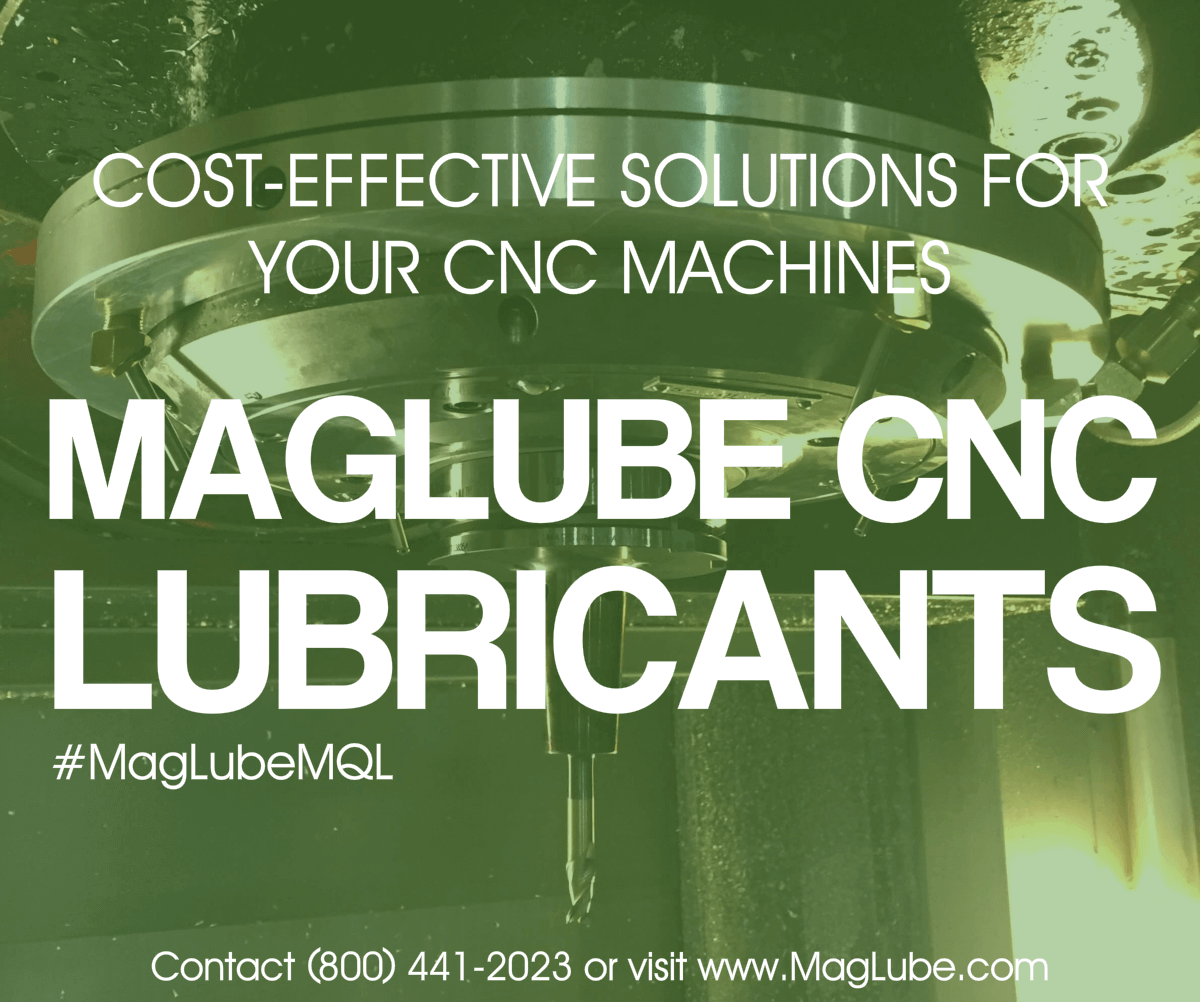 MagLube CNC Lubricants for your cnc machines