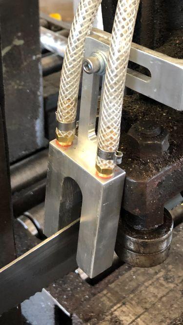 bandsaw nozzle