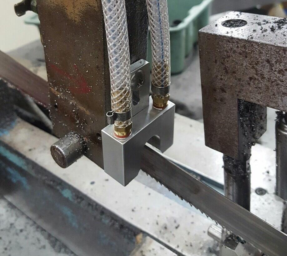 maglube lubricant system bandsaw