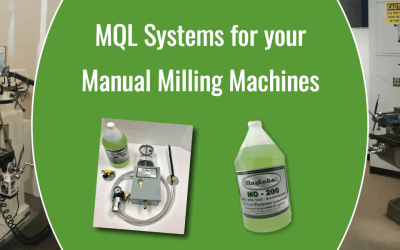 Lubricating Your Manual Mill With MagLube MQL